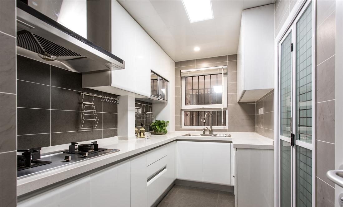 kitchens pictures bath and kitchen 白色素雅混搭风格厨房装修效果图 厨房图片