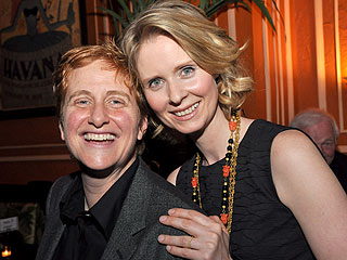 Cynthia Nixon and Christine Marinoni Get Married