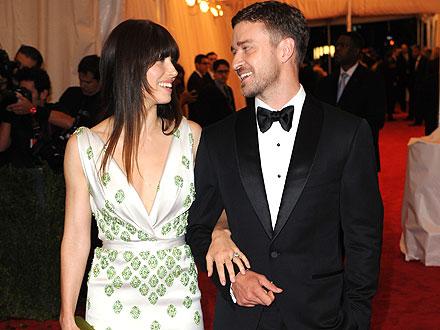 Justin Timberlake & Jessica Biel Celebrate Their Engagement at Cocktail Party | Jessica Biel, Justin Timberlake