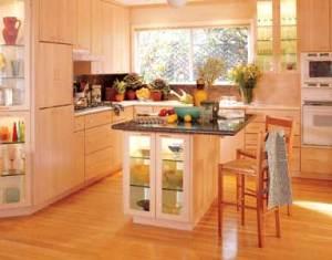 Angled Kitchen Island Dimensions