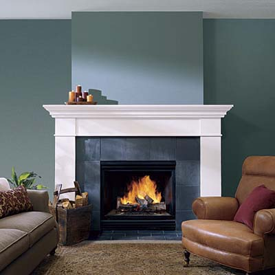 Big Fireplaces Dont Have to Loom  Fireplace Design Ideas  This Old House