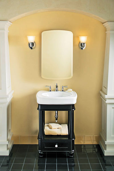 Petite Vanity  10 Kitchen and Bath Space Savers  This Old House