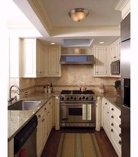 Small Galley Kitchen Design Layouts With Laundry ...