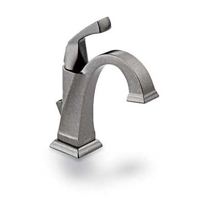 Pewter Faucet  BathVanity Revamp  This Old House