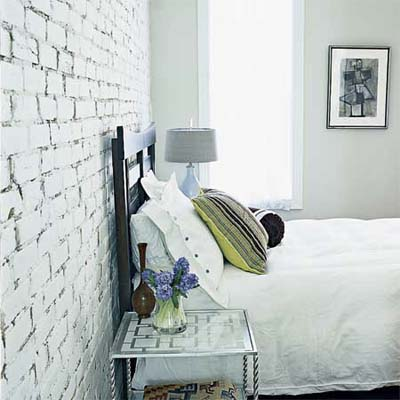 Whitewash Interior Exposed Brick  100 DIY Upgrades for Under 100  This Old House