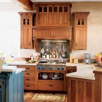 Design: Arts and Crafts   All About Kitchen Cabinets ...