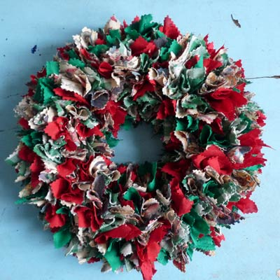 Rag Wreath  Creative Ideas for DIY Wreaths  This Old House