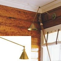 Wall-Mount Reading Lamp | How to Create a Cabin-Style ...