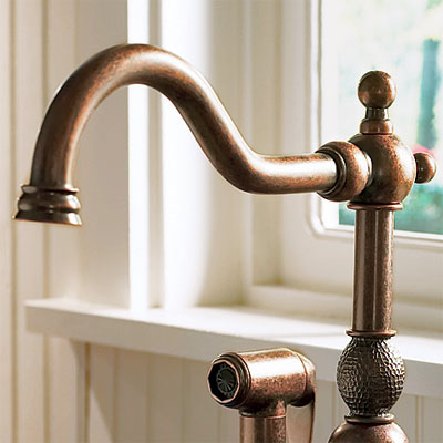 Finish Copper  All About Kitchen Faucets  This Old House