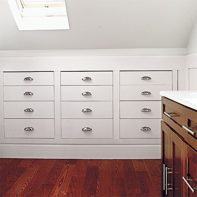 Storage Recess it into Knee Walls  Read This Before You Finish Your Attic  This Old House