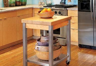 Diy Portable Kitchen Islands
