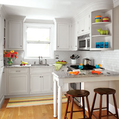 small space kitchen Limited Room   Steal Ideas From Our Best Kitchen Transformations   This Old House
