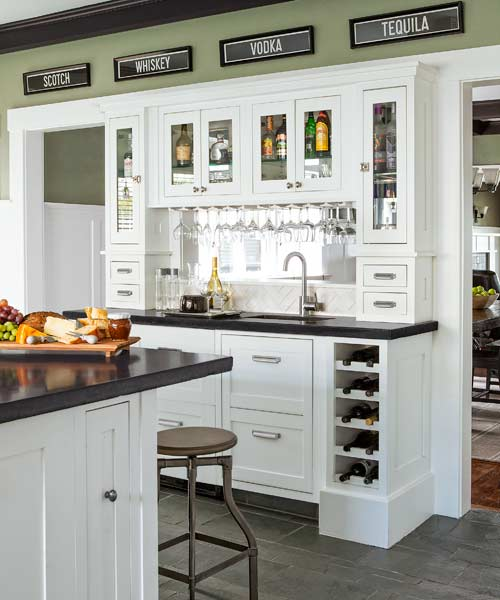 AllAccess Bar  BuiltIns That Make Entertaining Easier  This Old House