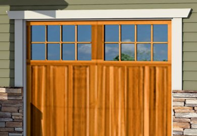 Craftsman Garage Door No Windows