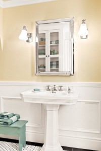 Airy and Functional | A Bathroom Adds Light, No Windows ...