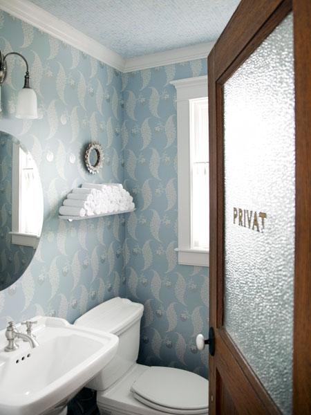 Small Half Bathroom Color Ideas