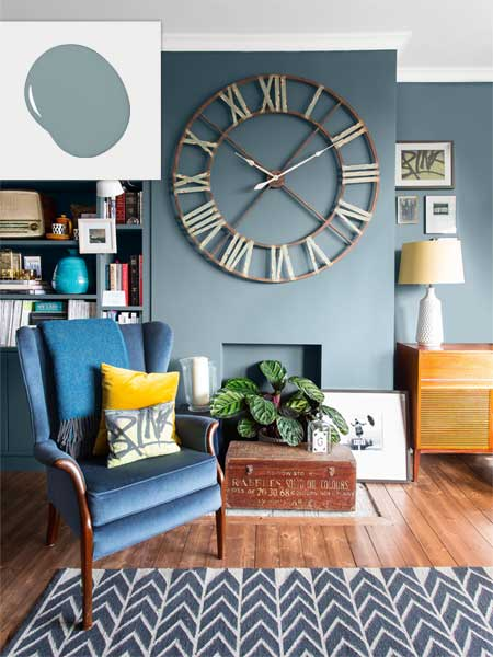Twilight Blue  NoFail Colors for Living Spaces  This
