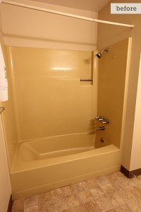 Before: Dated Tub   Blogger Before and After: From '70s to ...