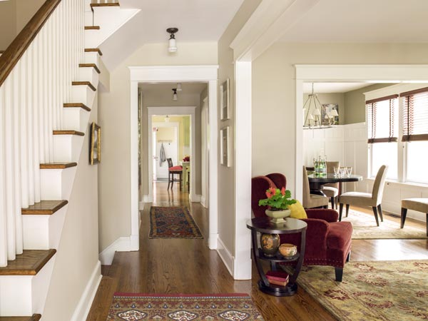 New Figure Eight Floor Plan  Room at the Top for a Classic American Foursquare  This Old House