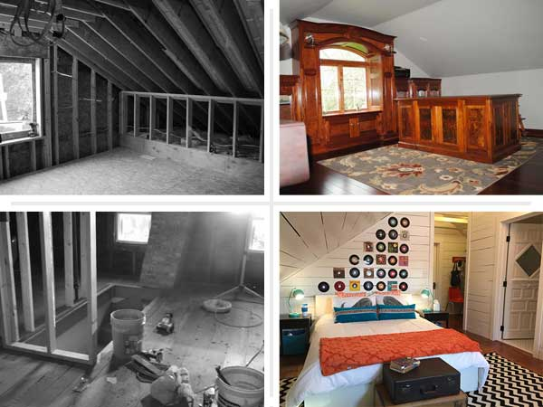 Beautifully Finished Attics  Best Attic Before and Afters