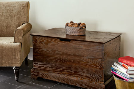 diy storage chest