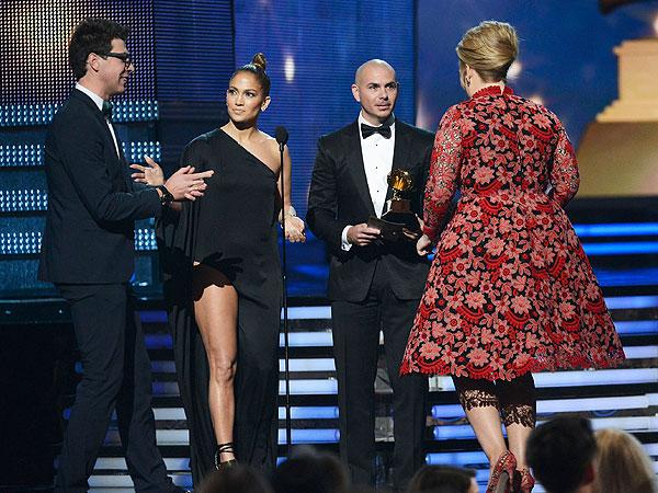 Grammys 2013: Adele's Win Saved By Jennifer Lopez