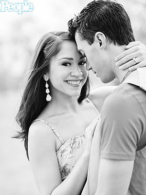 Ace Young Diana DeGarmo Engagement Photos Finally Taken
