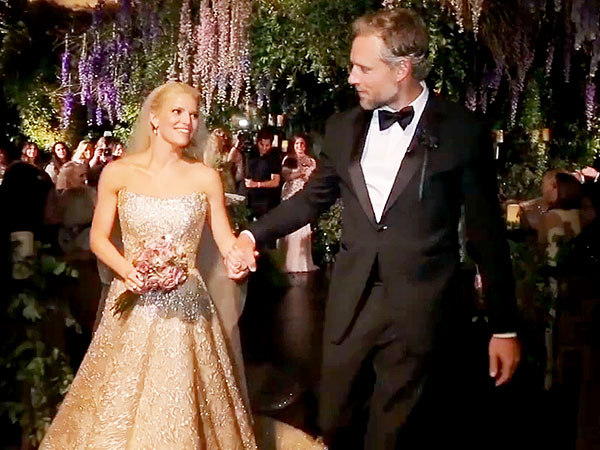 Jessica Simpson Walks Down the Aisle in Her Wedding Video  Peoplecom