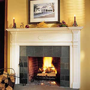 Easy Mantel Makeover  Fireplaces  Interior  This Old House