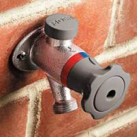 Exterior Hot-Water Faucet   Plumbing   Plumbing, HVAC ...