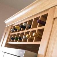 Wine Rack Cabinet Insert: The Inspiration | Stylish ...