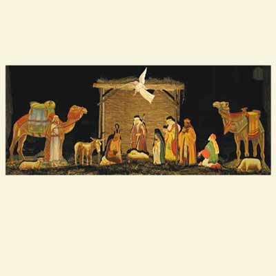 woodworking plans nativity