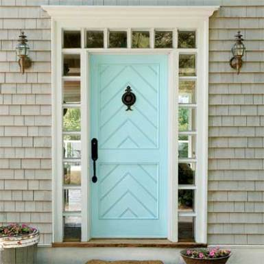 blue door color ideas - Behr Cool Jazz