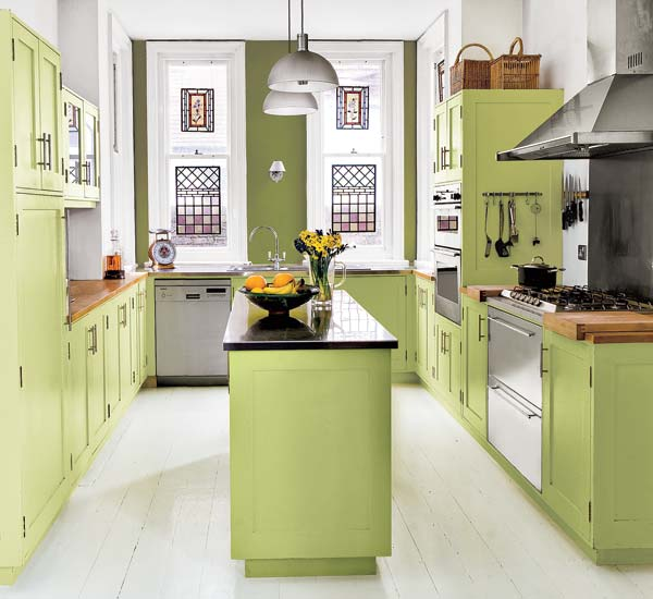 Palettes With Personality Five No Fail Palettes For Colorful Kitchens This Old House