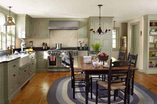 Farmhouse Addition: What's Old