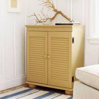 Shutter-Door Cabinet | 27 Ways to Build Your Own Bedroom ...