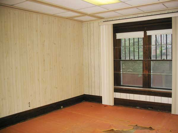 A Coffered Ceiling Renovation: Before