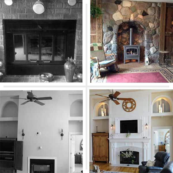 Sizzling Makeovers  Best Fireplace Before and Afters 2013  This Old House