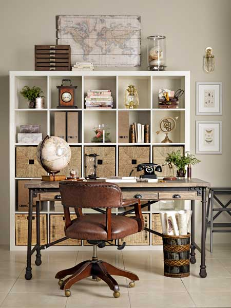 Neat and Nautical  Create a WellTraveled Home Office  This Old House