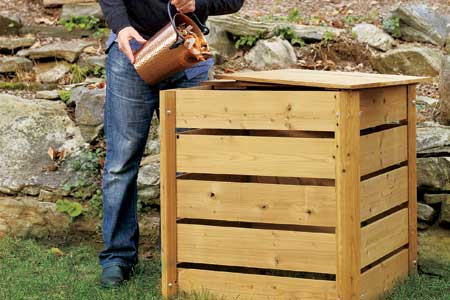 How to Build a Compost Bin  This Old House