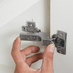 Reface Old Kitchen Cabinets Desk Chair Mount The Door | How To Install Concealed Euro-style ...
