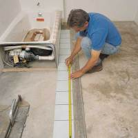 Dry layout | How to Tile a Floor | This Old House