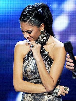 Rachel Crow X Factor Elimination Nicole Scherzinger