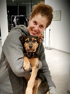 Lindsey Jacobellis Bringing Stray Pup Home from Sochi: Photo