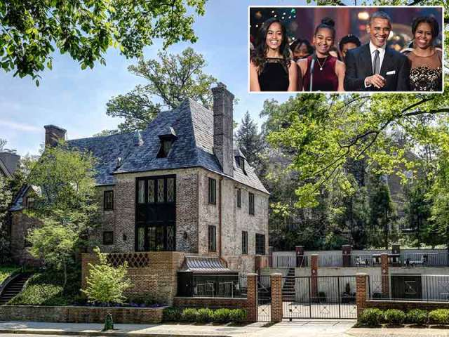 The Obama Family Will Live In D.C. Mansion After Presidency Ends: Report