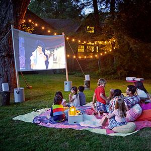 DIY Movie Night  Yard  Garden  This Old House