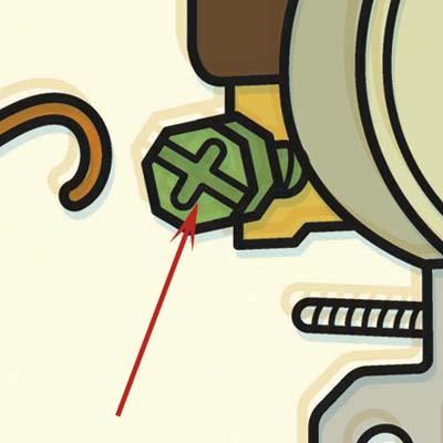 grounding screw