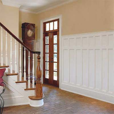 Entry Wainscoting Designs This Old House