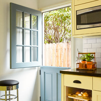colorful kitchen appliances 4 person table coordinated prep work | a redo with added function ...