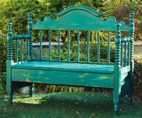 2. Garden Bench From an Old Bed: After | 9 Creative Low ...